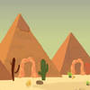 Desert pyramids alien escape