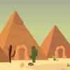 Desert pyramids alien escape