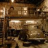 Old big garage escape